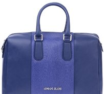 Amani jeans Satchel in Blue 35235