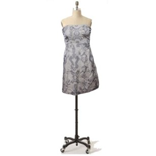 American Eagle Outfitters short dress Cream & Gray on Tradesy