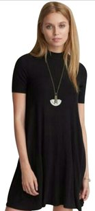 American Eagle Outfitters short dress Black Halter on Tradesy