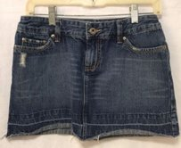 American Eagle Outfitters Distressed Mini Skirt
