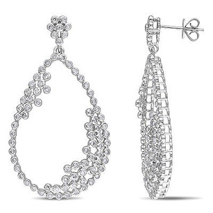 Amour Amour 14k White Gold 1 13 Ct Tdw Diamond Earrings G-h Si1-si2