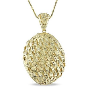 Amour Signature Collection 18k Yellow Gold Pendant Necklace 17