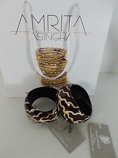 Amrita Singh Amrita Singh Curved Resin Bangle Bracelet Bbr-502