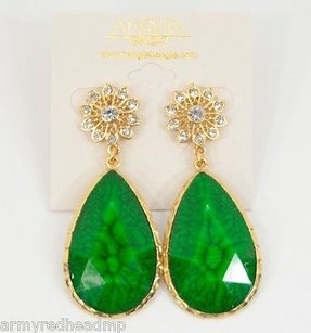 Amrita Singh Amrita Singh Gold Crystal East Lake Evergreen Real Housewives Earrings