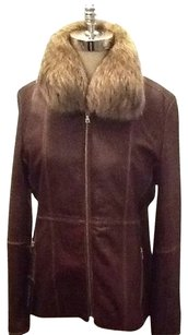 Andrew Marc Brown Chestnut Jacket