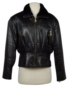Andrew Marc Womens Black Jacket