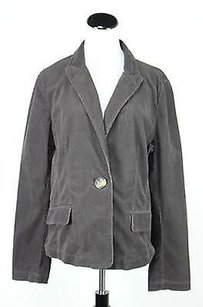 Ann Taylor Ann Taylor Womens Brown Blazer Xlarge Long Sleeve Cotton Basic Jacket