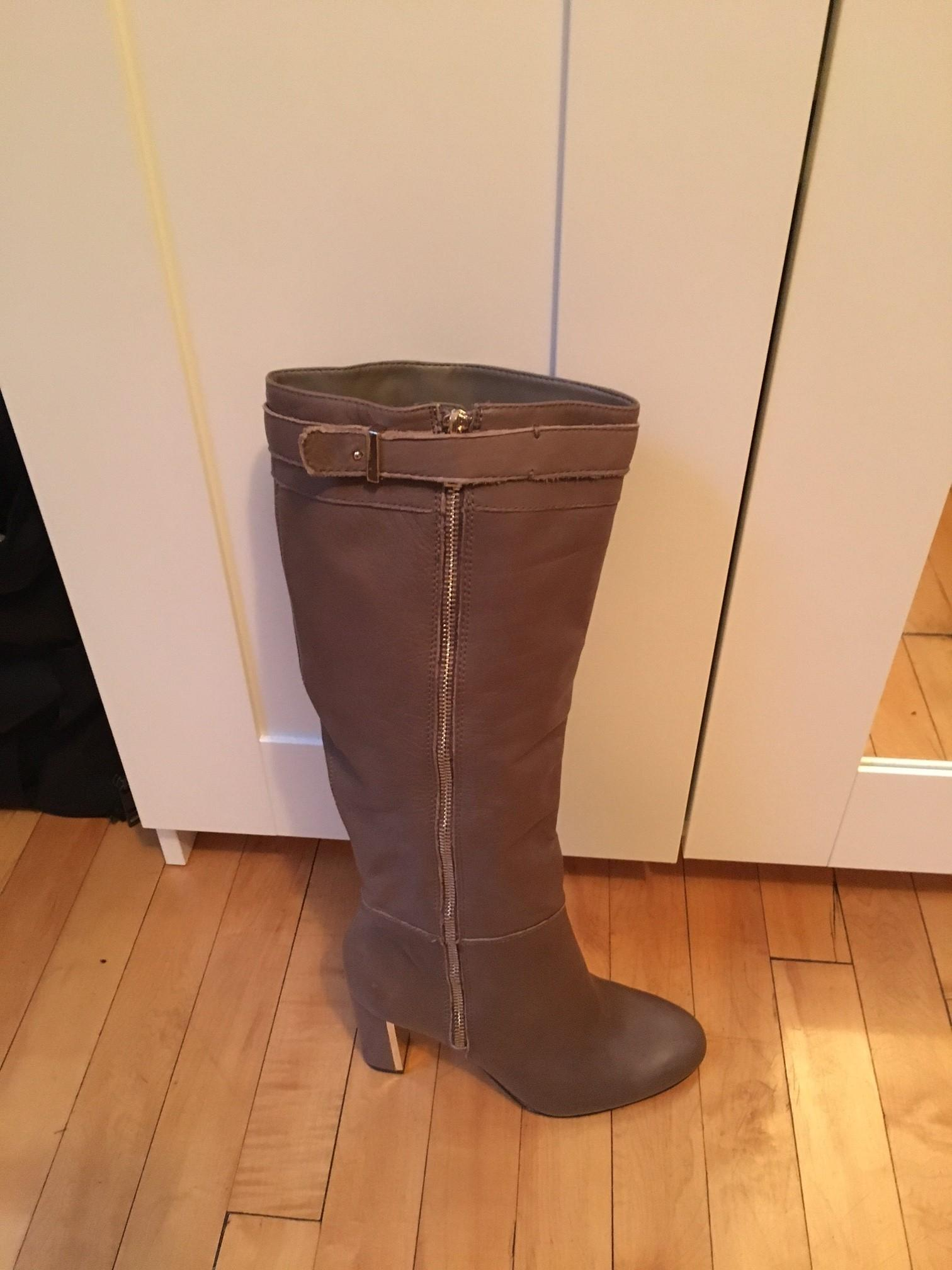ann taylor Marron  chaussures bottes / chaussures  ordinaires (- 8 taille m, b) 967017