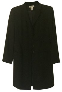 Ann Taylor Fully-lined Light-weight Over The Knee black Jacket