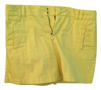 Ann Taylor LOFT Cargo Shorts Yellow