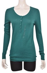 Ann Taylor LOFT Womens Teal Sweater