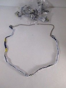 Ann Taylor LOFT Lot Of Ann Taylor Loft N W Y Rope Maasa Bead Slvr Chain Necklace Ea