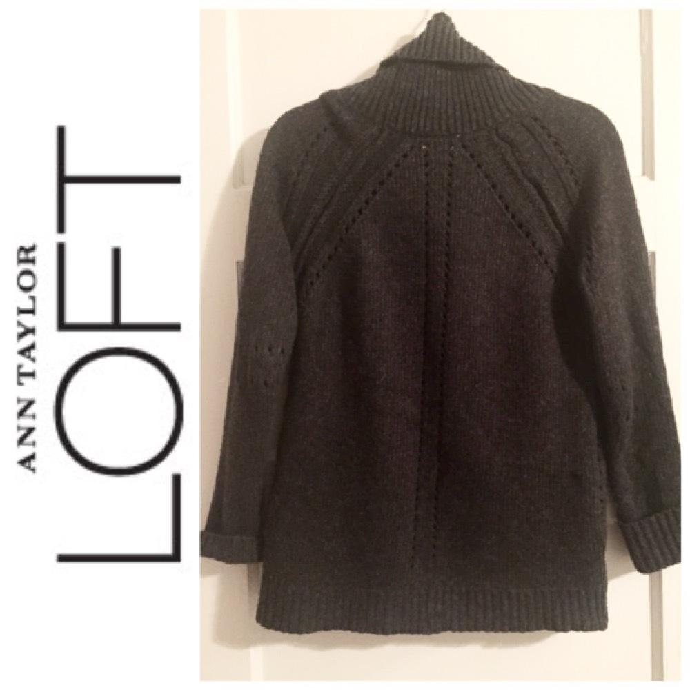 High Quality Ann Taylor Loft Oversized M Sweater 60 Off Retail