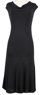 Ann Taylor Womens Solid Sleeveless Viscose Blend Sheath Dress