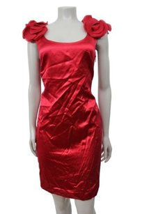Ann Taylor Satin Sheath Dress