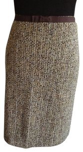 Ann Taylor Skirt Green / Brown