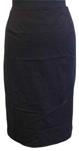 Anne Klein Straight Pencil Skirt Black