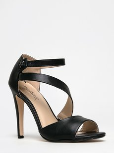 Anne Michelle Black Sandals