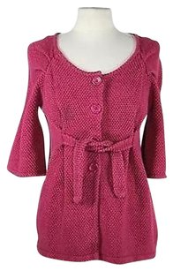 Anthropologie Tabitha Womens Basic Pink Jacket