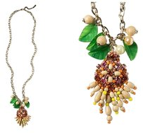 Anthropologie Anthropologie Rambutan Necklace By Rada Made in Italy
