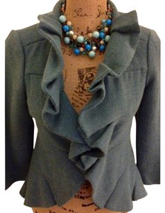 Anthropologie Blue Blazer