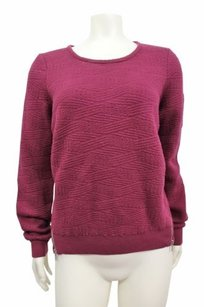 Anthropologie Moth Burgundy Sweater