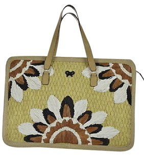 Anya Hindmarch Womens Pale Satchel in Multi-Color