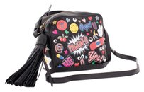 Anya Hindmarch Wink Sticker Leather Crossbody Shoulder Bag