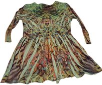 Apt. 9 In Style Pleats Poplin Top Multi colored