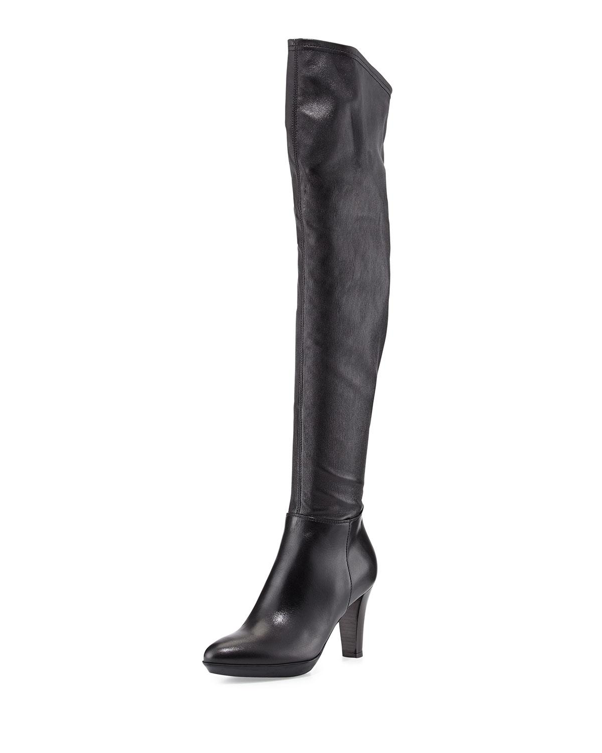 Aquatalia Leather and Nylon Over-The-Knee Boots free shipping great deals discount find great 2015 cheap price 2mJPp