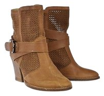 Aquatalia by Marvin K. Womens Ankle Tan Boots