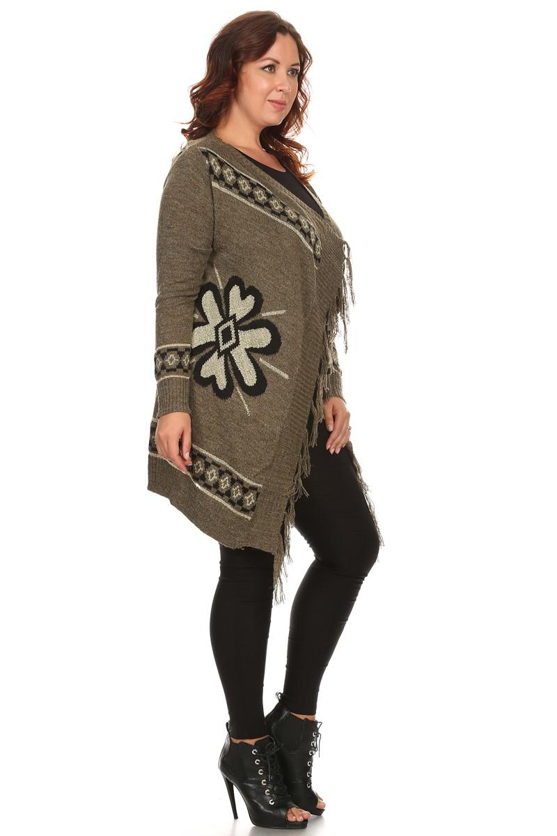 sweater - navajo print -loves it. Find this Pin and more on Outfits! by Kirsten Hackett. aztec cardigan I love the color and pattern on this -M There is 1 tip to buy this sweater: aztec aztec teal pretty comfy warm jacket cardigan green.