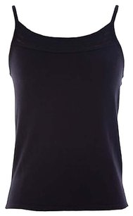 Armani Collezioni Womens Cashmere Blend Cm05km Top Black
