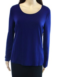 Emporio Armani Fmm52j Knit Long Sleeve Top