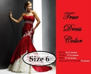 Red Satin And Lace Gown Valentine S Day Mermaid Gown Underlay Modern