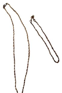 Artistry Artistry Gold Filled Rope Necklace and Bracelet Set, 1/20 12K, Mother's Day Set