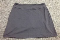 Athleta Athleta Black Polyester Spandex Blend Elastic Waist Athletic Skort Sma 8220