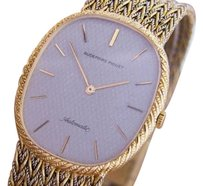 Audemars Piguet Audemars Piguet Mens Automatic Ellipse 18k Gold Swiss Mens Watch Dr10