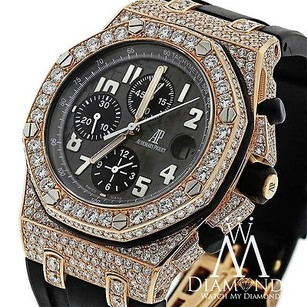 Audemars Piguet Diamond Audemars Piguet Royal Oak Offshore Chronograph Rose Gold Watch