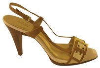 Audrey Brooke Camel / White Formal
