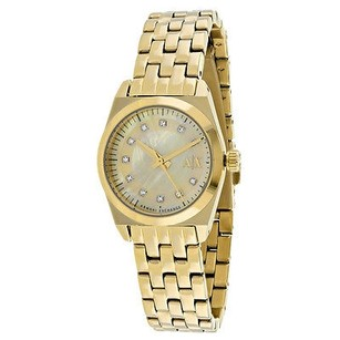 A|X Armani Exchange Armani Exchange Ax5331 Womens Watch Gold Mop -