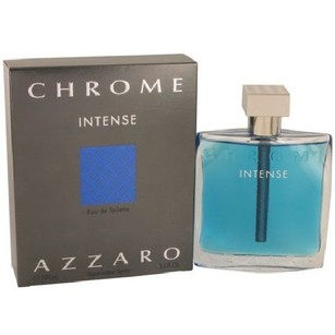 Azzaro Azzaro Chrome INTENSE for Men Eau de Toilette 3.4 oz / 100 ml New.