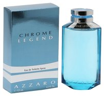 Azzaro CHROME LEGEND by AZZARO EDT Spray for Men ~ 4.2 oz / 125 ml