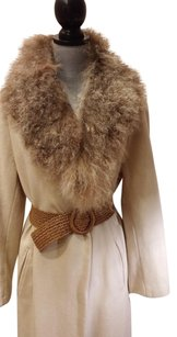Badgley Mischka Fur Coat