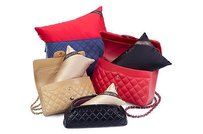 Bag-a-Vie Shaper Pillow Inserts Chanel Handbag Tote in Champagne
