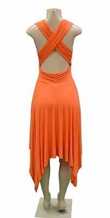 Bailey 44 short dress Orange Open Back Asymmetric Hem Foxy on Tradesy