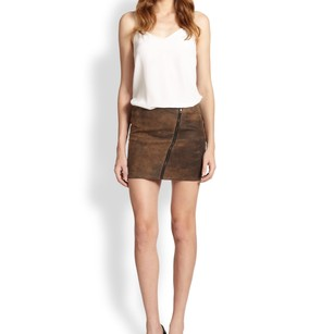 Bailey 44 Mini Skirt Brown