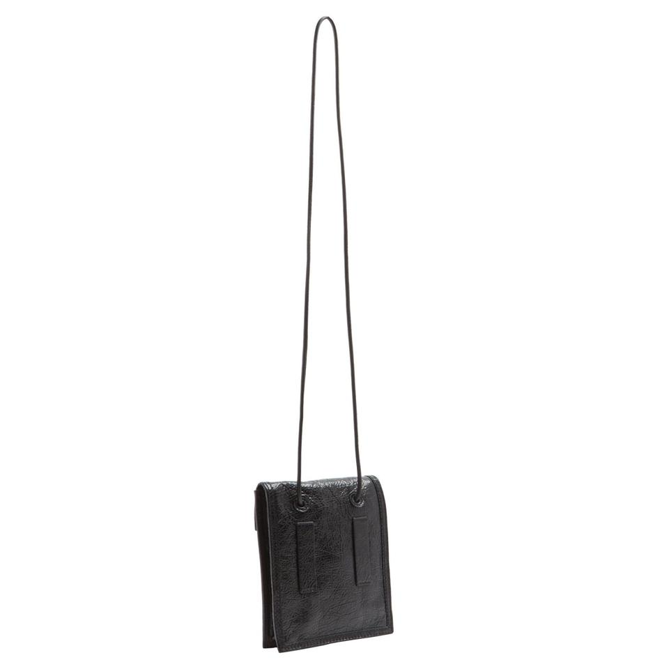 Cross Pouch Black Body G Creased dragon Pack Fanny Pouch Bag Arena Balenciaga Leather ZwqBgvB