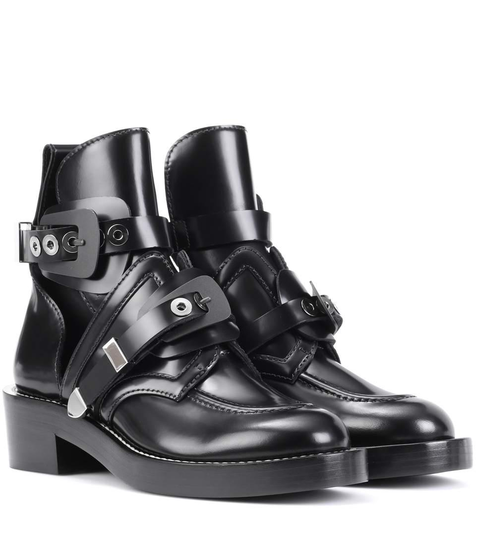 Balenciaga Black Ceinture Boots/Booties Size EU 38.5 (Approx. US 8.5) Regular (M, B)