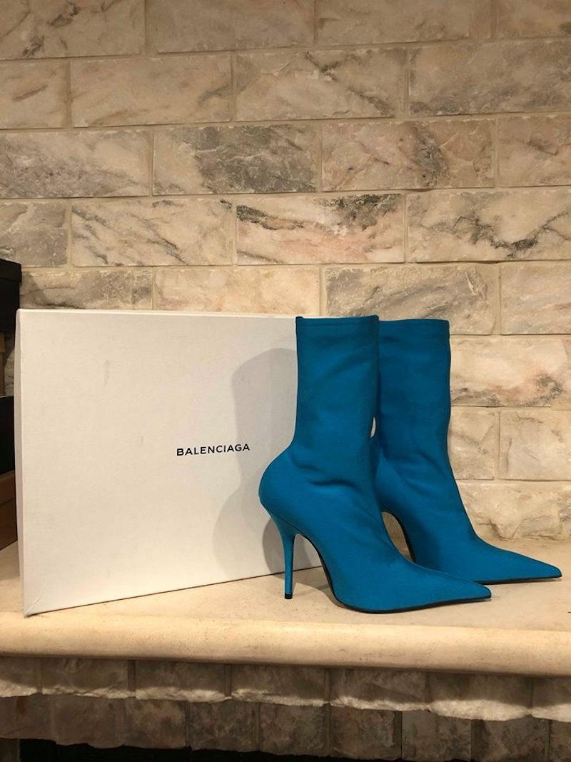 Cheap Real Authentic Newest Cheap Online Knife Spandex Sock Boots - Black Balenciaga Hd8zrNq5Zs